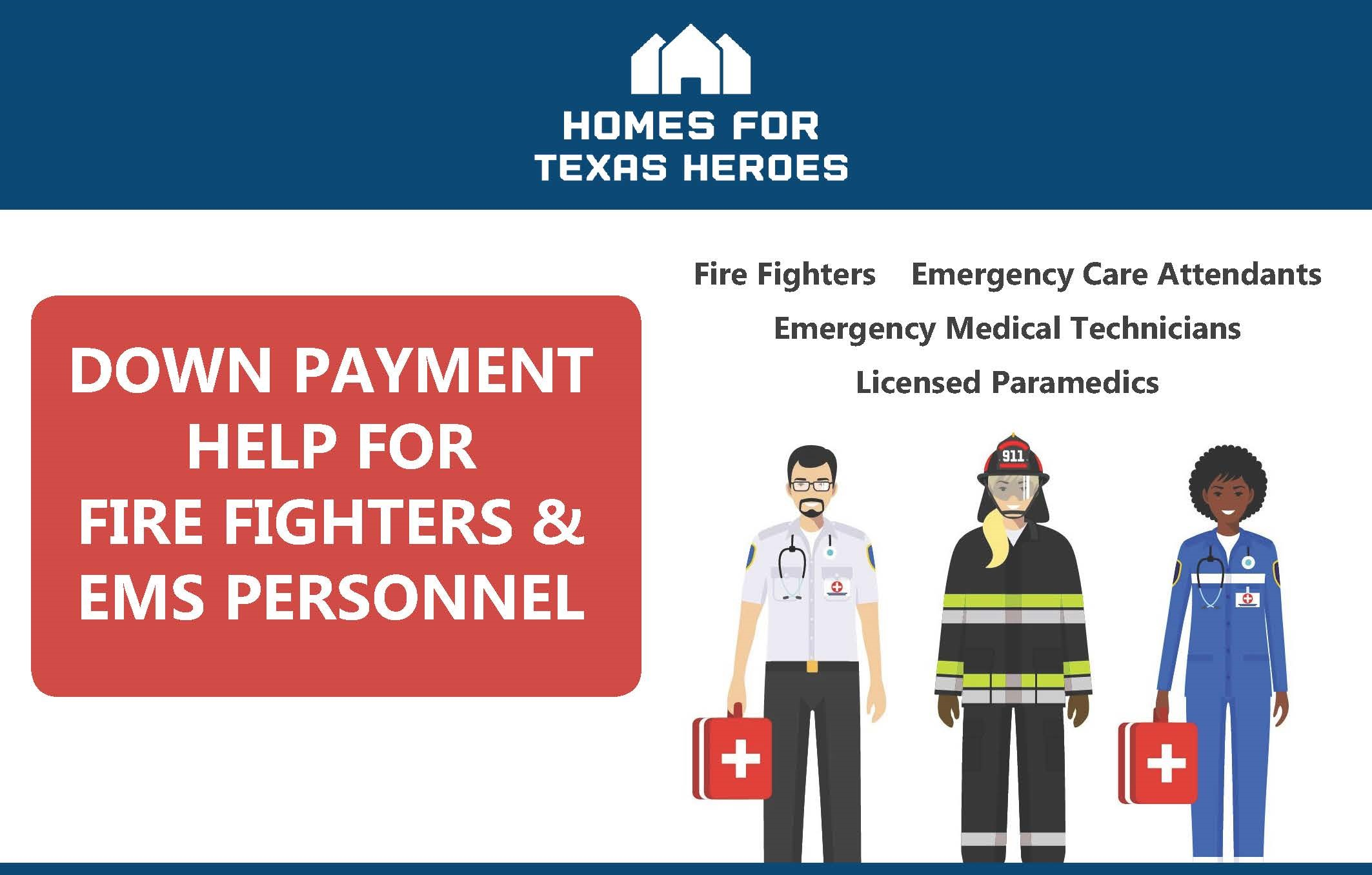 Ems Fire Fighter Home Mortgage Loans Down Payment